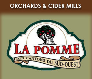 apple orchards and cider mills in the Montreal region