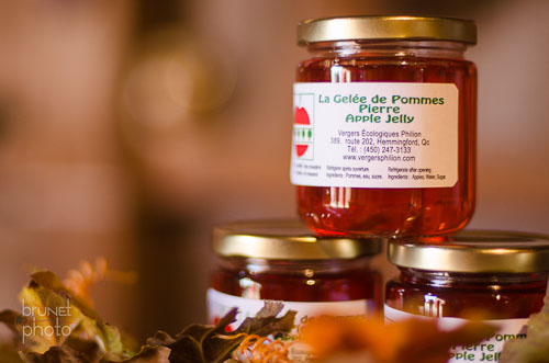 apple jelly in the Montreal Region of Quebec